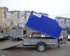 Легковой прицеп. Модель Аляска 7143 «КВАДРО»